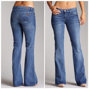 "7 for all Mankind | ""A"" Pocket Flared Jeans"